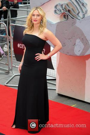 Kate Winslet - Premiere of 'Divergent' held at the Odeon Leicester Square - Arrivals - London, United Kingdom - Sunday...
