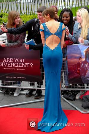 Shailene Woodley - Premiere of 'Divergent' held at the Odeon Leicester Square - Arrivals - London, United Kingdom - Sunday...