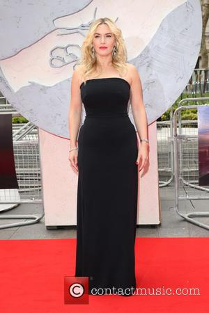 Kate Winslet - Divergent European Premiere held at the Odeon Leicester Square - Arrivals - London, United Kingdom - Sunday...