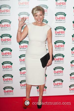 Emma Thompson - Jameson Empire Awards 2014 held at The Grosvenor House - Arrivals. - London, United Kingdom - Sunday...