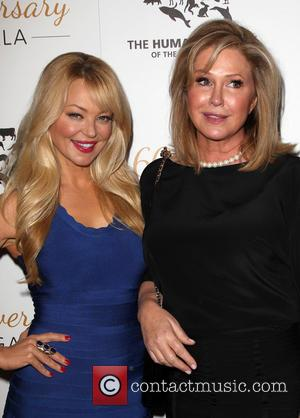Charlotte Ross and Kathy Hilton