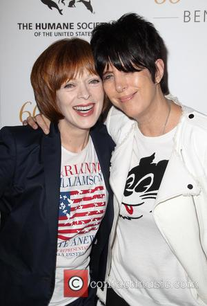 Frances Fisher and Diane Warren