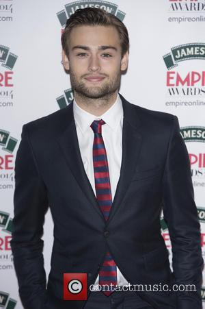 Douglas Booth - The Jameson Empire Awards 2014 held at Grosvenor House - Arrivals - London, United Kingdom - Sunday...