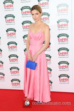 Annabelle Wallis - The Jameson Empire Awards 2014 held at Grosvenor House - Arrivals - London, United Kingdom - Sunday...