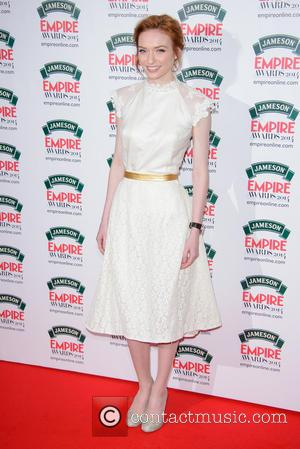Eleanor Tomlinson - The Jameson Empire Awards 2014 held at Grosvenor House - Arrivals - London, United Kingdom - Sunday...