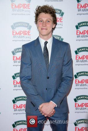 George MacKay - The Jameson Empire Awards 2014 held at Grosvenor House - Arrivals - London, United Kingdom - Sunday...