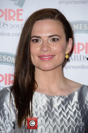 Hayley Atwell - The Jameson Empire Awards 2014 held at Grosvenor House - Arrivals - London, United Kingdom - Sunday...