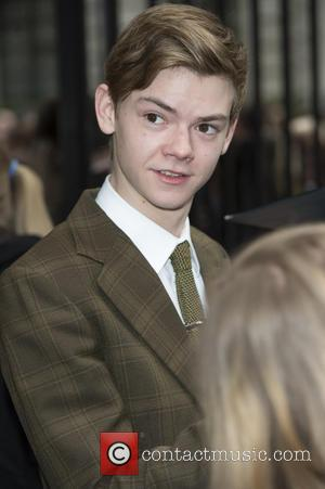 Thomas Brodie-Sangster - The Jameson Empire Awards 2014 held at Grosvenor House - Arrivals - London, United Kingdom - Sunday...