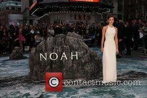 Emma Watson - Noah - UK film premiere held at the Odeon Leicester Square - Arrivals - London, United Kingdom...