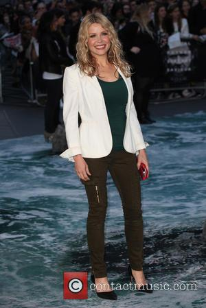 Melinda Messenger - U.K. premiere of 'Noah' held at the Odeon Leicester Square - Arrivals - London, United Kingdom -...