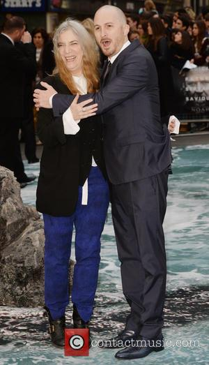 Darren Aronofsky and Patti Smith - U.K. premiere of 'Noah' held at the Odeon Leicester Square - Arrivals - London,...