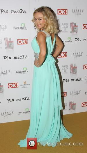 Kristina Rihanoff - The Pia Michi & Inanch fashion show held at Millennium Hotel London - Arrivals - London, United...