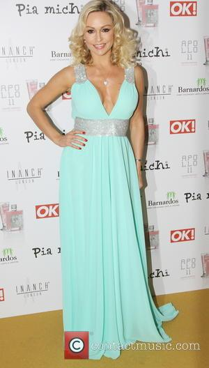 Kristina Rihanoff - The Pia Michi & Inanch fashion show held at Millennium Hotel London - Arrivals - London, United...