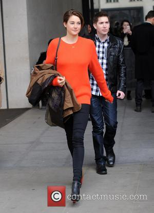 Shailene Woodley - Shailene Woodley pictured at Radio 1 - London, United Kingdom - Monday 31st March 2014