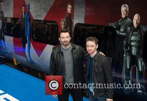 Hugh Jackman and James Mcavoy