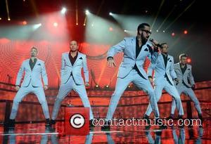 Kevin Richardson, Howie Dorough, AJ McLean, Brian Littrell and Nick Carter - Backstreet Boys
