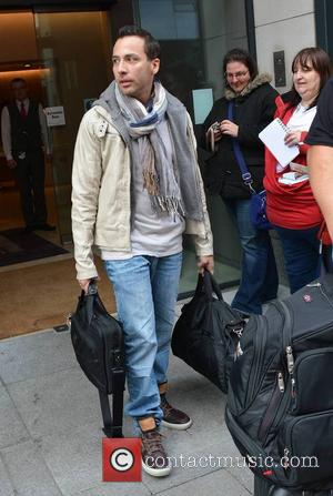 Howie Dorough - The Backstreet Boys seen coming and going at their Dublin hotel ahead of playing The O2 tonight......