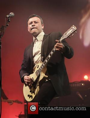 James Dean Bradfield - Manic Street Preachers performing live in concert at the Manchester O2 Apollo - Manchester, United Kingdom...