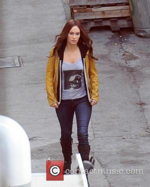 Megan Fox - Megan Fox seen on the set of