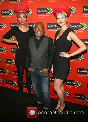 Brand Ambassador Brooke Slade, Johnathan Butler and Brand Ambassador Kaid Gardner - 2014 South African Tourism's Ubuntu Awards held at...