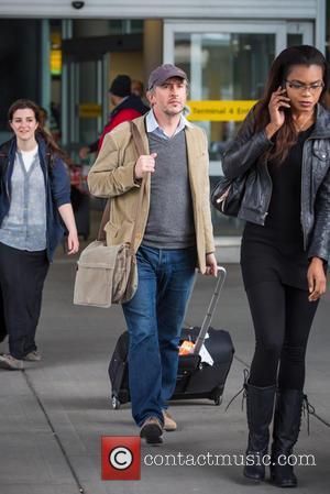 Steve Coogan - Steve Coogan arriving at John F. Kennedy International Airport (JFK) - New York City, New York, United...