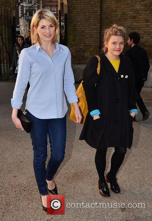 Jodie Whittaker - Celebrities arriving for the private view of 'Pangaea New Art From Africa And Latin America' at the...