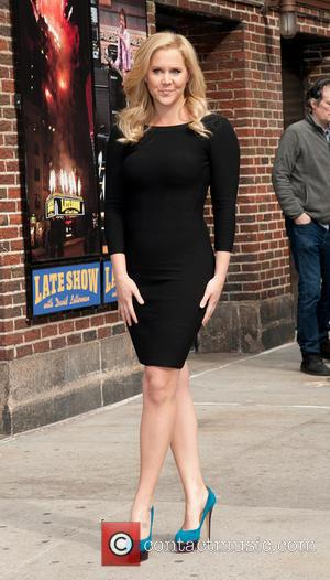 Amy Schumer - Amy Schumer at Late Show with David Letterman Show - New York, New York, United States -...
