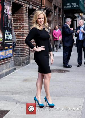 Amy Schumer - Celebrity arrivals at the Late Show with David Letterman in NYC - New York, New York, United...