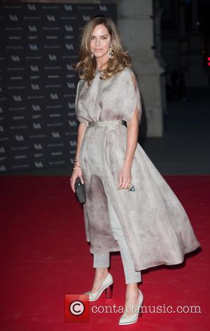 Trinny Woodall - The Glamour of Italian Fashion 1945-2014 - VIP dinner held at the Victoria and Albert Museum -...