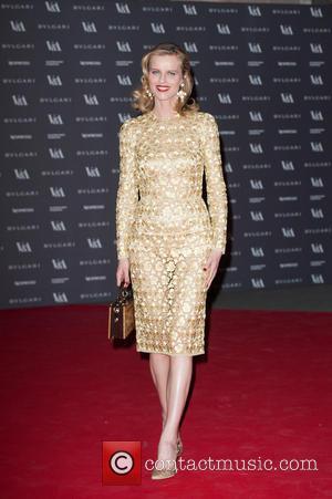Eva Herzigova - The Glamour of Italian Fashion 1945-2014 - VIP dinner held at the Victoria and Albert Museum -...
