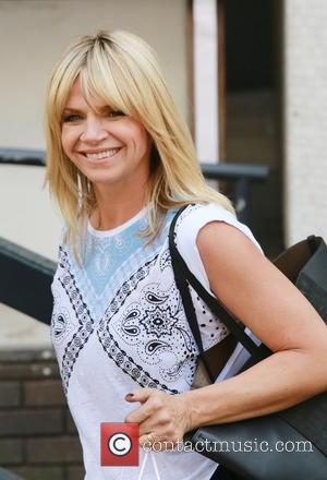 Zoe Ball - Celebrities outside the ITV studios - London, United Kingdom - Tuesday 1st April 2014