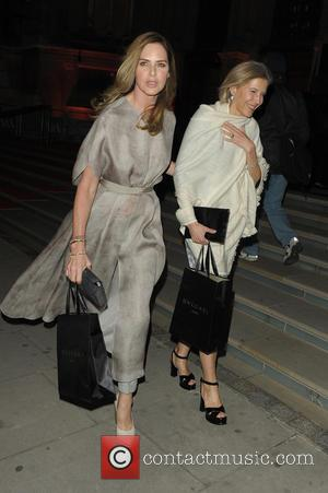 Trinny Woodall - The Glamour of Italian Fashion exhibition at Victoria & Albert Museum - London, United Kingdom - Tuesday...