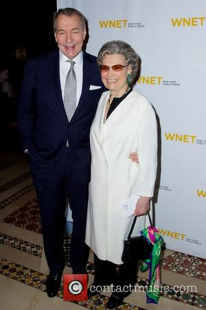 Charlie Rose and Rosalind P. Walter - WNET Annual Gala  celebrates people and partnerships that help the station thrive...