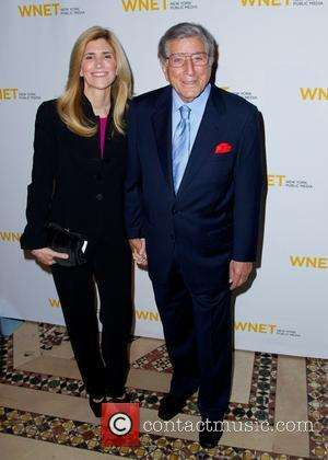 Susan Crow and Tony Bennett