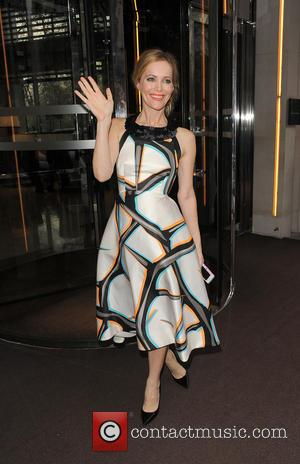 Leslie Mann - Celebrities leaving their hotel to go to the premiere of 'The Other Woman' - London, United Kingdom...