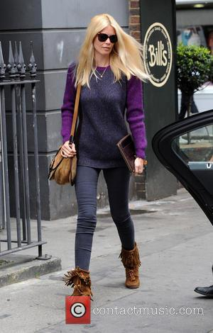 Claudia Schiffer - Claudia Schiffer spotted in Central London - London, United Kingdom - Wednesday 2nd April 2014