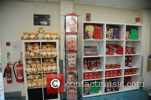Gift Shop - Press preview of Coronation Street The Tour at the Old Coronation Street Set Granada Studio's Manchester. -...