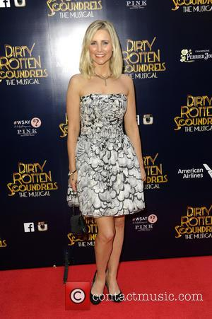 Carly Stenson - Dirty Rotten Scoundrels Press Night after party at The Savoy Hotel - London, United Kingdom - Wednesday...