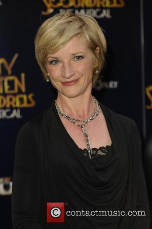 Jane Horrocks - Dirty Rotten Scoundrels Press Night after party at The Savoy Hotel - London, United Kingdom - Wednesday...