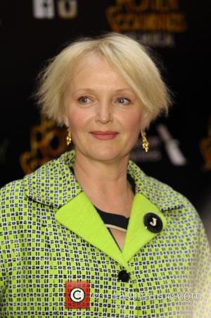 Miranda Richardson - Dirty Rotten Scoundrels Press Night after party at The Savoy Hotel - London, United Kingdom - Wednesday...