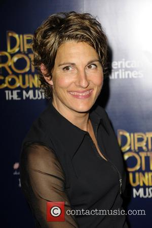 Tamsin Greig - Dirty Rotten Scoundrels Press Night after party at The Savoy Hotel - London, United Kingdom - Wednesday...