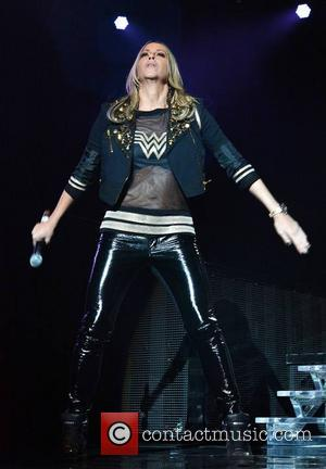 All Saints - Nicole Appleton - The Backstreet Boys perform at The O2 supported by All Saints... - Dublin, Ireland...