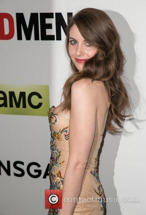 Alison Brie - Season 7 premiere of the Emmy and Golden Globe Award-winning drama 'Mad Men' held at ArcLight Cinemas...