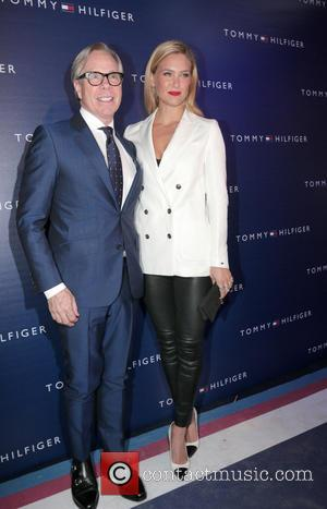 Tommy Hilfiger and Bar Refaeli - Tommy Hilfiger and Bar Refaeli at the opening of his store in Tel Aviv...
