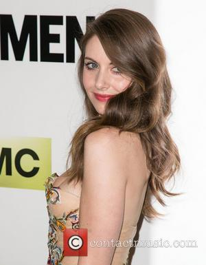 Alison Brie - Celebrities attend AMC celebration of the Season Seven Premiere of The Emmy & Golden Globe Award-winning drama...