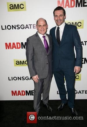 Matthew Weiner and Jon Hamm