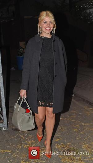Holly Willoughby - Celebs Seen leaving Celeb Juice Recording Held at Riverside Studios in London. - London, United Kingdom -...