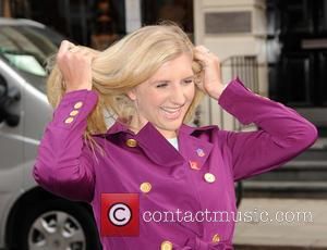 Rebecca Adlington - Celebrities arriving at Claridges for daytime tv show 'Loose Women' - London, United Kingdom - Wednesday 2nd...