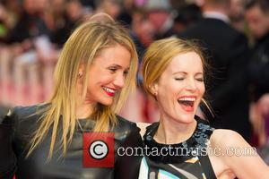 Cameron Diaz & Leslie Mann - U.K. gala screening of 'The Other Woman' - Arrivals - London, United Kingdom -...