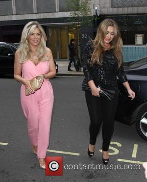 Frankie Essex and Lauren Goodger - Boux Avenue press launch party at The Sanderson Hotel - London, United Kingdom -...